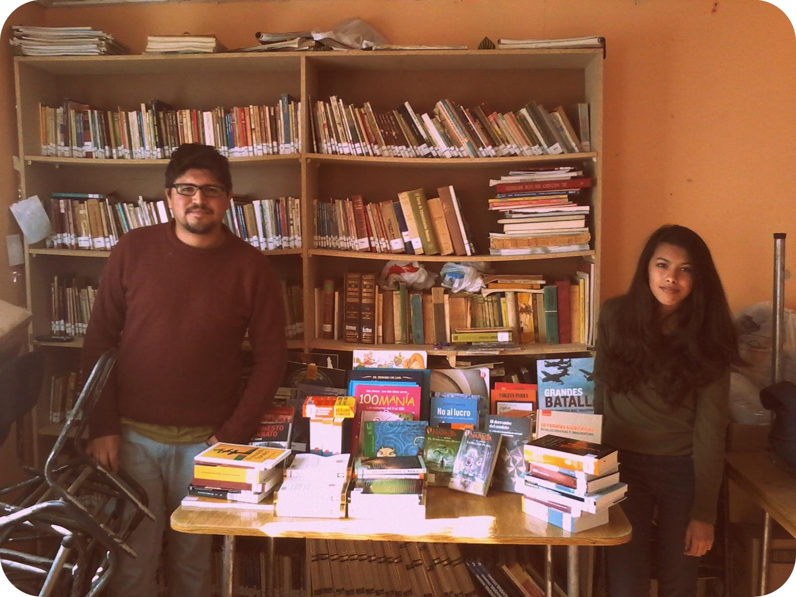 Visita de la Red a la Biblioteca Popular Newén, Belloto Norte, 2014!