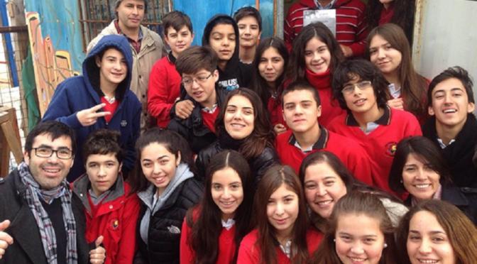 Recibimos donaciones del 8° C del Colegio Alemán de Valparaíso!!