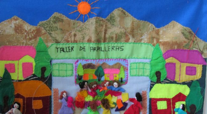 La memoria de las arpilleras