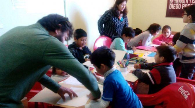 Creación de Carpetas personales de Niñxs de biblioteca popular guillermo López